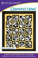 Diamond Head by Cozy Quilt Designs Quilt Pattern