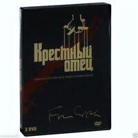 Godfather: The Coppola Restoration trilogy(DVD,2008, 3-Disc Set) Russian,English