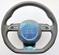 2018 AUDI S Line A3 S3 RS3 Q3 RS A1 Flat Bottom steering wheel DSG PADDLES