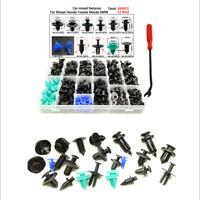 395Pcs Plastic Car Body Push Pin Rivet Fasteners Moulding Trim Clip &Remove Tool