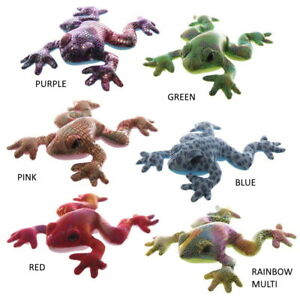 Assorted Colours Sand Animals Metallic Plush Collectable Creatures (1 Supplied)