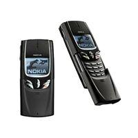 TELEFONO CELLULARE NOKIA 8850 SLIDE NERO GSM INFRAROSSI RICONDIZIONATO.
