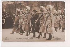 Vintage Postcard Kaiser Wilhelm II, German Emperor King of Prussia & Sons