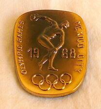 1968 MEXICO Olympics CZECHOSLOVAKIA NOC Pin BADGE Olympic Games CZECH