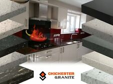 BLACK QUARTZ KITCHEN WORKTOPS & GRANITE WORKTOP HAND MADE UNIQUE QUALITY
