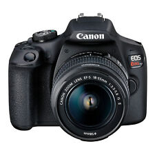 Canon EOS Rebel T7 DSLR Camera and EF-S 18-55mm IS II Lens Kit