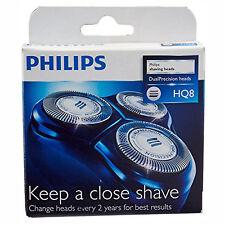 PHILIPS Genuine HQ8 Dual Precision Cutter & Foil Shaver Head Pack of 3