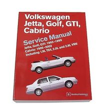 Bentley Diagram Repair Service Manual Volkswagen VW Cabrio Golf GTI Jetta TDI
