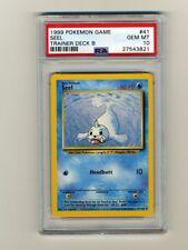 Pokemon PSA 10 GEM MINT Seel Trainer B Deck 1999 Base Set Card 41/102