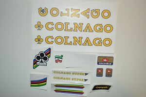 decals - stikers Colnago Super Road 70-80's ,  12 options on your choice