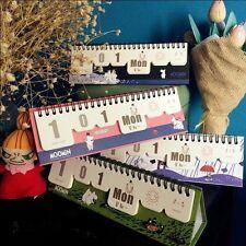 """Summer Time"" 1pc Desk Calendar DIY Any Year Scheduler Planner To Do List Cute"