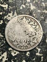 1846 Great Britain 1 Shilling Lot#L6965 Silver!