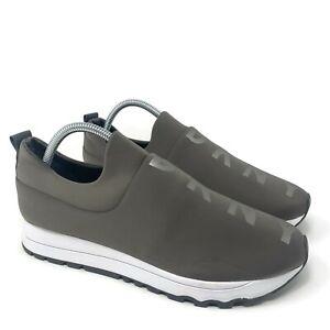 DKNY Jayden Slip On Sneakers Womens Size 10 Gray Donna Karen Walking Shoes