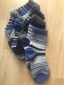 Boys Next Socks 6 To 8 1/2 New Seven Pairs S 35