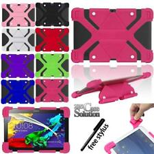 "Bumper Silicone Stand Cover Case Fit Various 9"" 10.1"" Lenovo Tablet + Stylus"