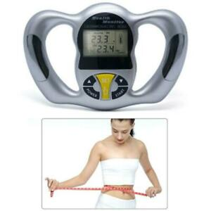 LCD Digital Body Fat Analyzer Health Monitor BMI Meter Weight Loss Tester Scale