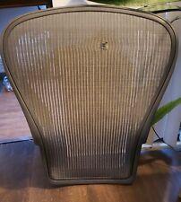 Herman Miller Aeron Chair Grey Gray Light Graphite Seat Back Mesh Size C Large