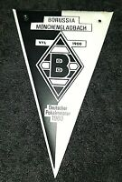 Alter Mini Wimpel Borussia Mönchengladbach Nescafe 11 x 7cm Bundesliga Fussball