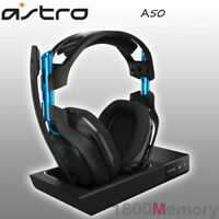 Astro A50 Gen 3 Wireless RF Gaming Headset + Base Station for Sony PS4 Pro PC