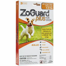 ZoGuard Plus for Dogs 4-22 Pounds 3 Month Supply Ticks Fleas