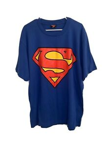 Vintage 1997 DC Comics Superman Marvel Tshirt USA Single Stitch Sleeve Size XL