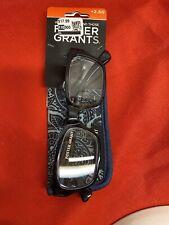 Foster Grant Mira - Blue  / +2.50 Reading Glasses W/Soft Case - New