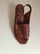 Womens TAN Leather K By Clarks Sandals Size UK 4.5