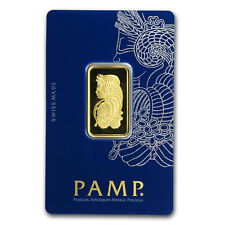1/2 oz Gold Bar - PAMP Suisse Lady Fortuna Veriscan® (In Assay) - SKU#159919