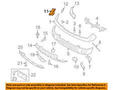 NISSAN OEM 05-18 Frontier Front Bumper-Side Bracket Left 62223EA500