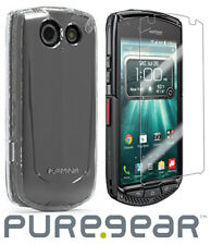 Puregear Funda Transparente + Protector de Pantalla para Verizon Kyocera