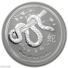 Perth Mint Australia 2013 Lunar Snake 1 oz .999 Silver Coin