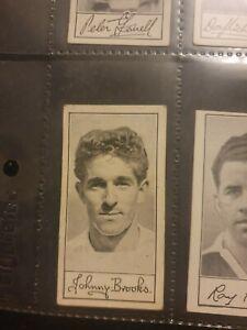 Famous Footballers (Series A4) Barratt & Co Ltd - No 29 J Brooks (Tottenham)