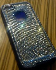 iPhone 5 Phone Case Crystallized W/SWAROVSKI - Black Crystals