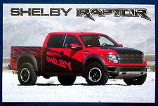 Prospekt brochure Datenkarte 2011-2014 Ford Shelby Raptor (USA)