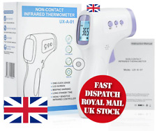 IR Infrared Digital Thermometer Non-contact Forehead Baby Adult UK Stock
