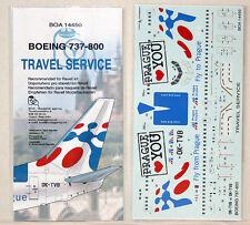 BOA Decals 1/144 Boeing 737-800 Travel Service (14450)