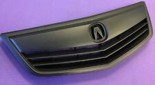 Brand New Acura TSX 2011-2014 Front Upper Grille Grill With Molding All Black