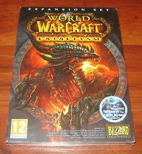 World Of Warcraft Cataclysm Expansion PC Game Expansion Set New and Sealed
