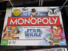 2008 PARKER BROTHERS MONOPOLY STAR WARS THE CLONE WARS EDITION MISISNG 1 PLAYING