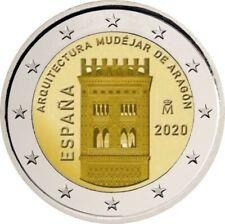 1x 2 euro commémorative Espagne 2020 - Architecture d'Aragon (neuve)