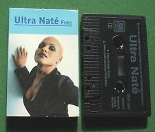 Ultra Nate Free Radio Edit / Full Intention Club Mix Cassette Tape Single TESTED