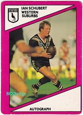 1988 SCANLENS RUGBY LEAGUE #107: IAN SCHUBERT - MAGPIES/NRL SALARY CAP AUDITOR B