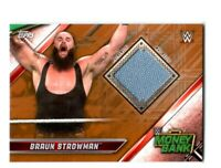 WWE Braun Strowman 2019 Topps Raw Bronze Money In The Bank Mat Relic Card 47/99