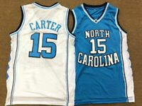 Throwback Vince Carter #15 North Carolina Tar Heels College Basketball Jersey