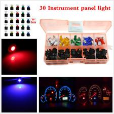 12V 30 Sets Car SUV T5 LED Instrument Panel Cluster Dash Light Mixed Bulb Lights