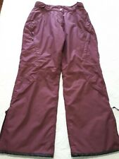 Womens L Crane Skiing Snowboarding Waterproof Windproof Pants Snow Thinsulate