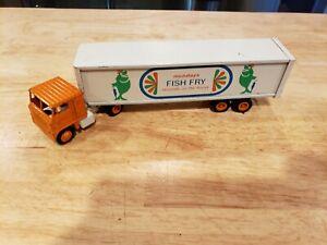 Vtg Winross Howard Johnsons Mondays Fish Fry Semi Tractor trailer diecast truck