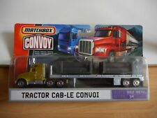 Matchbox Convoy Tractor Cab-Le Convoi in Green/Grey on Blister