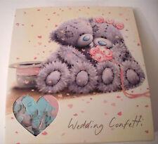 2 x BOXES TATTY TEDDY WEDDING CONFETTI Multicoloured PINK BLUE GREY Me To You