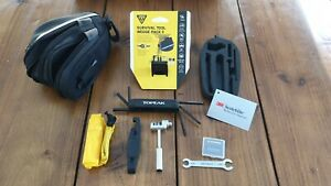 Topeak Survival Tool Wedge Cycle Bike Cycling Saddle Bag 14 Tools QUICKCLICK NEW